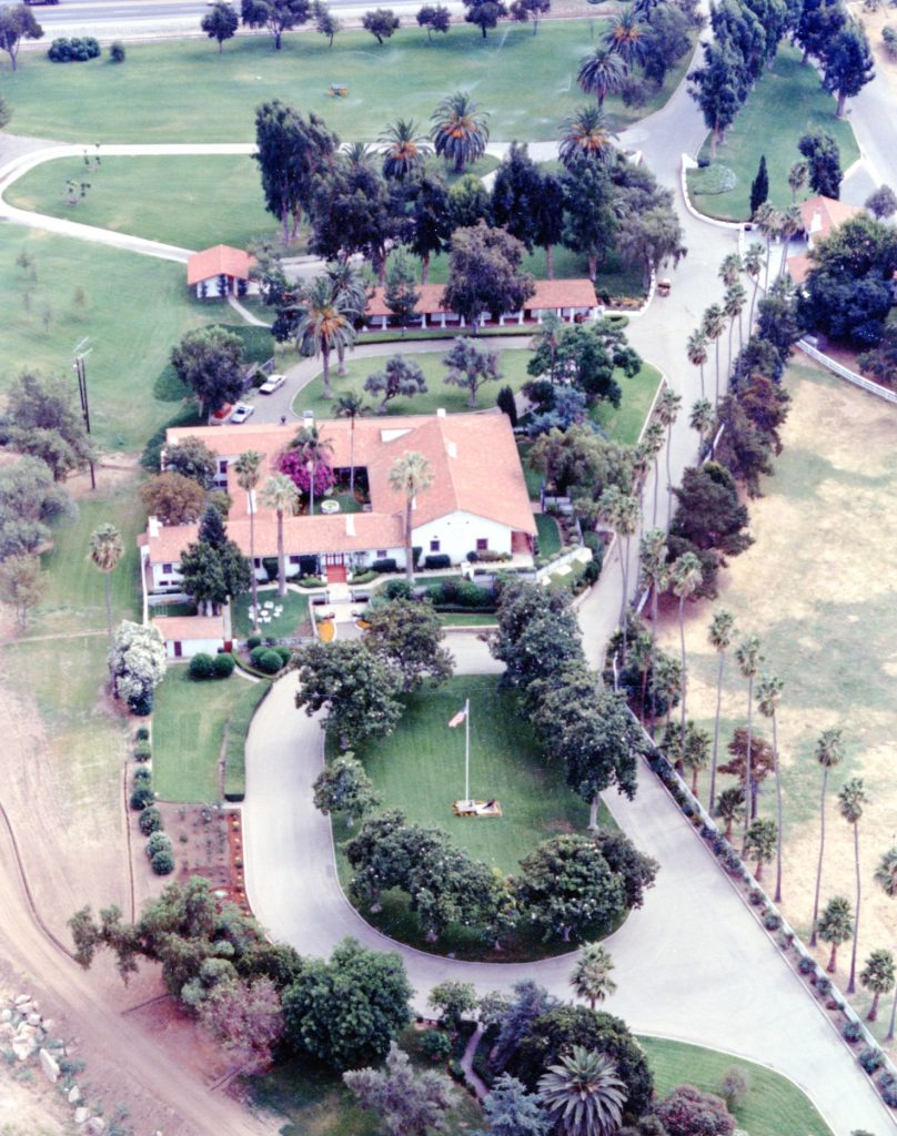 Ranch House Complex - Aerial View